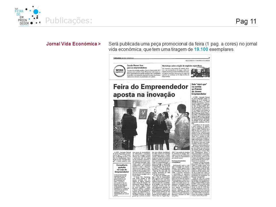 Publicações: Pag 11 Jornal Vida Económica >