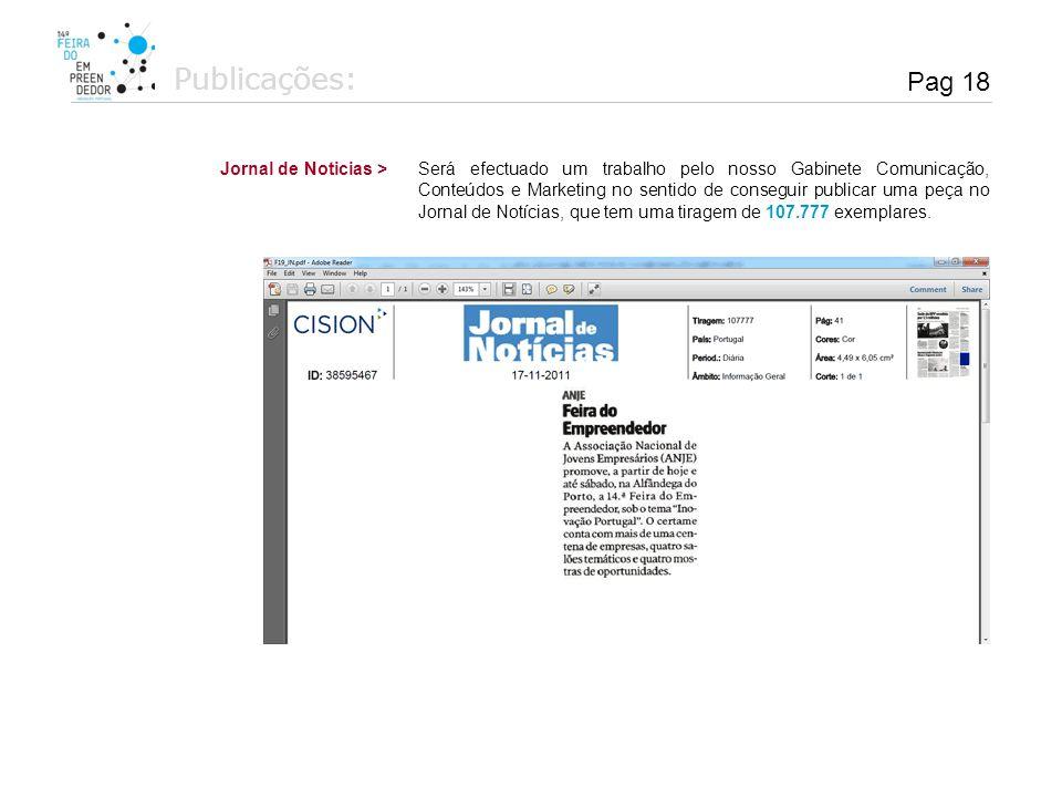 Publicações: Pag 18 Jornal de Noticias >