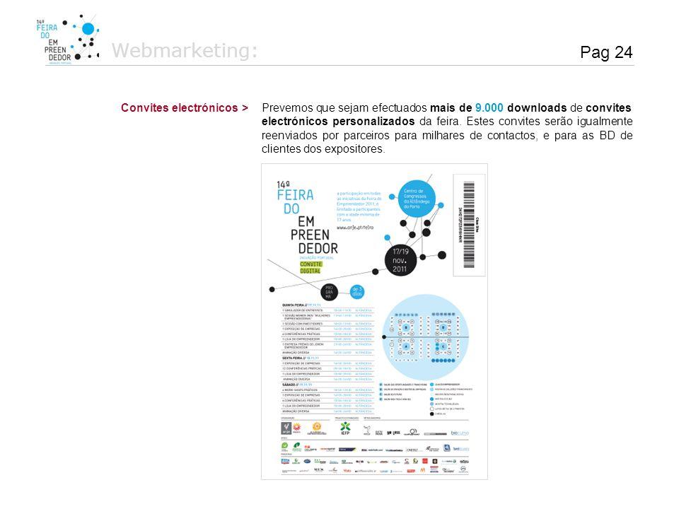 Webmarketing: Pag 24 Convites electrónicos >