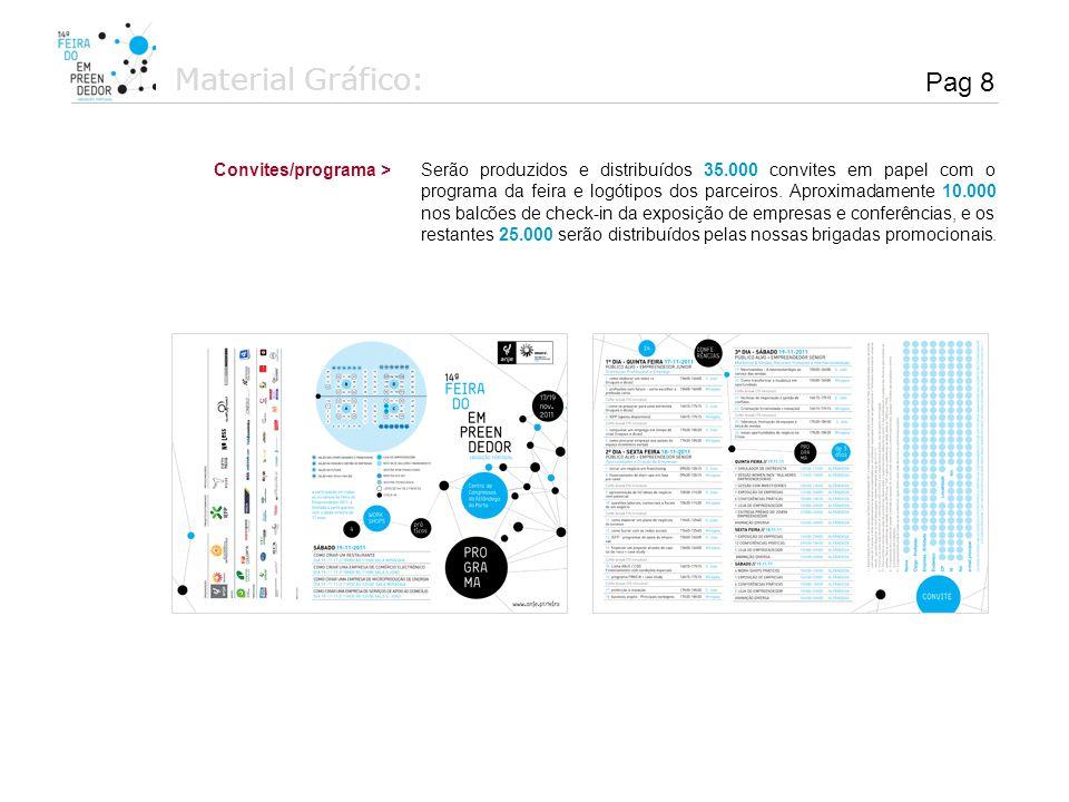Material Gráfico: Pag 8. Convites/programa >