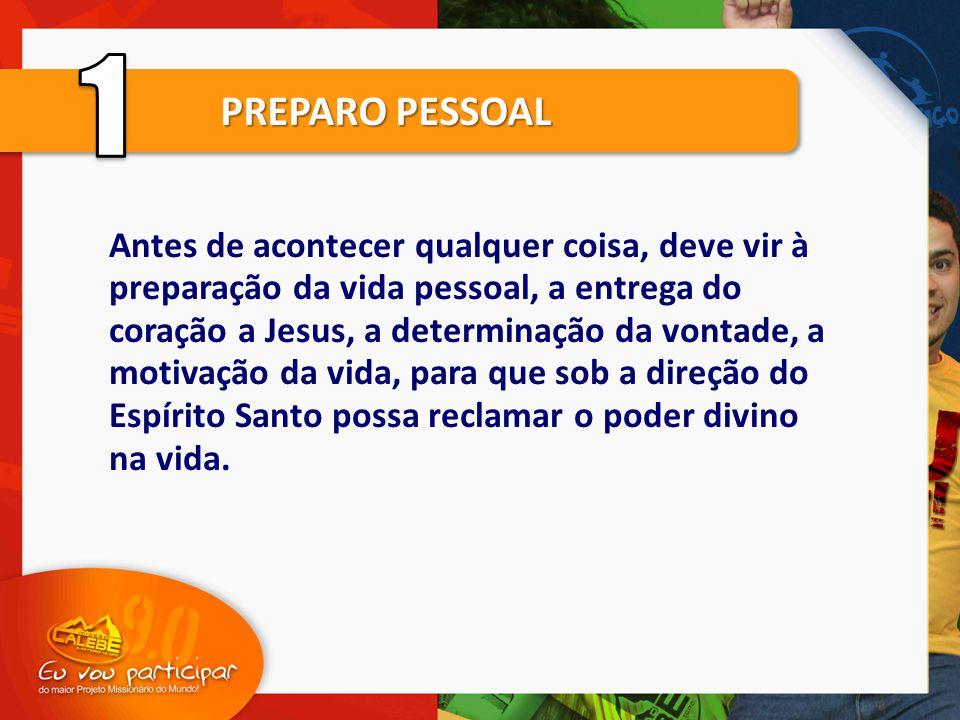 1 PREPARO PESSOAL.