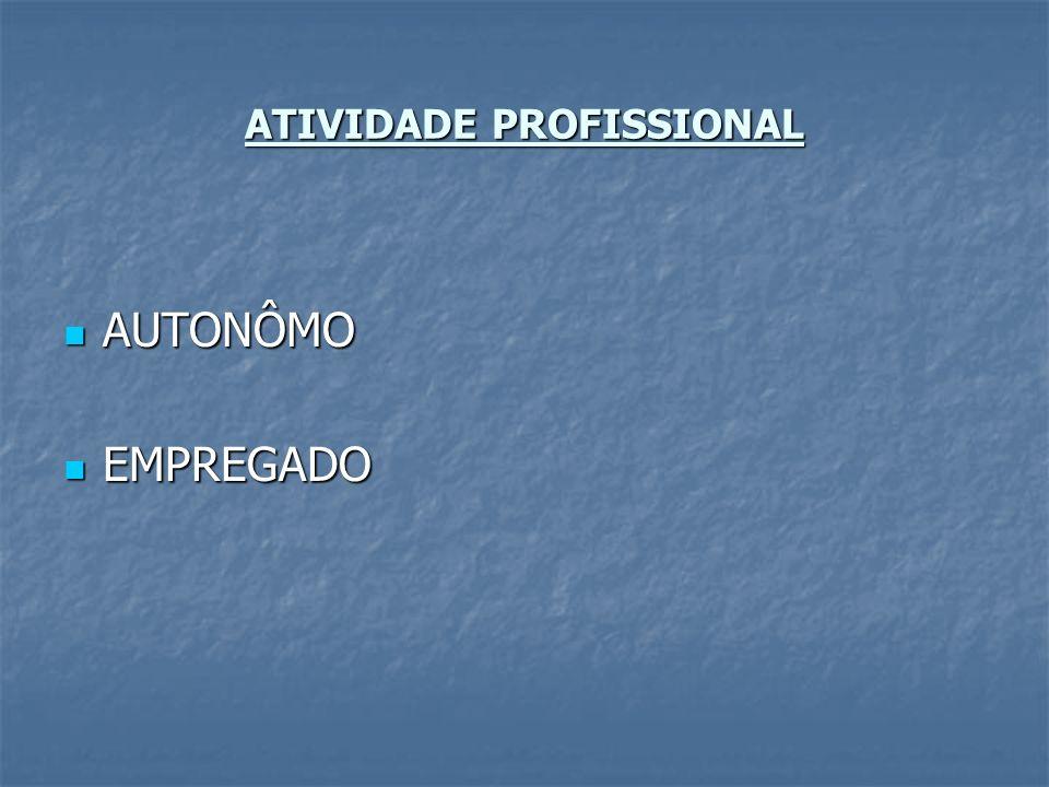 ATIVIDADE PROFISSIONAL