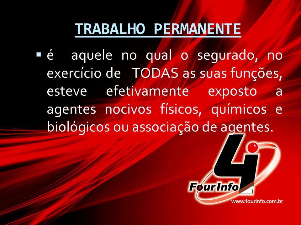 TRABALHO PERMANENTE