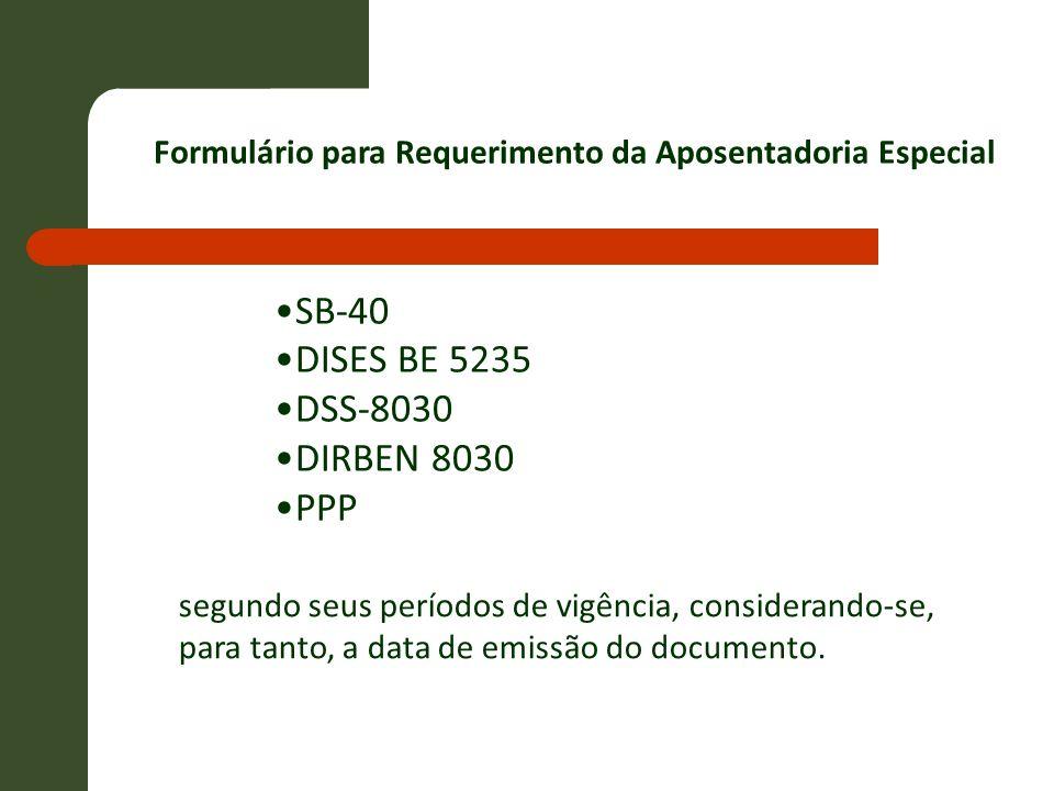 SB-40 DISES BE 5235 DSS-8030 DIRBEN 8030 PPP