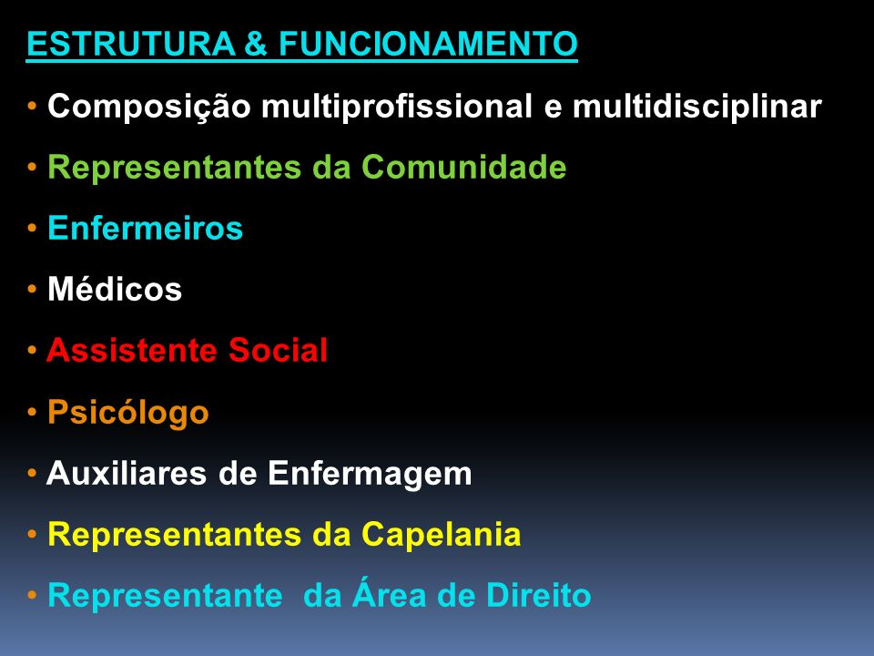 ESTRUTURA & FUNCIONAMENTO