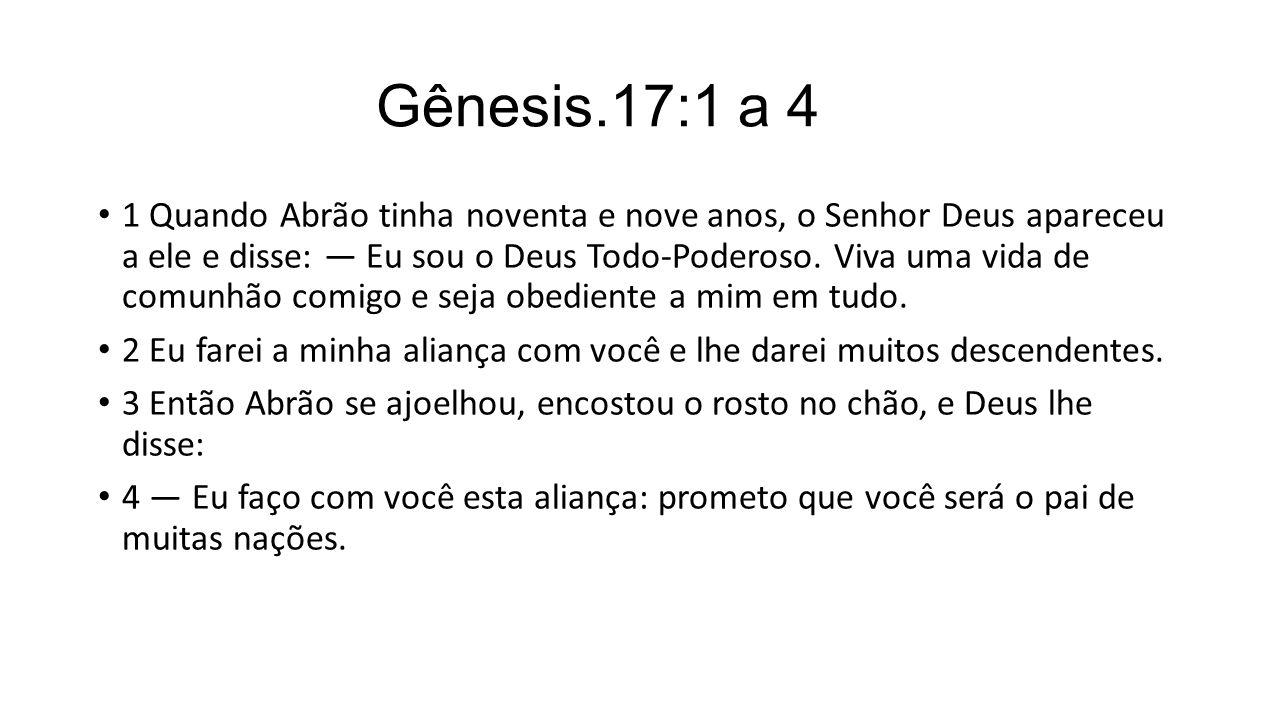 Gênesis.17:1 a 4