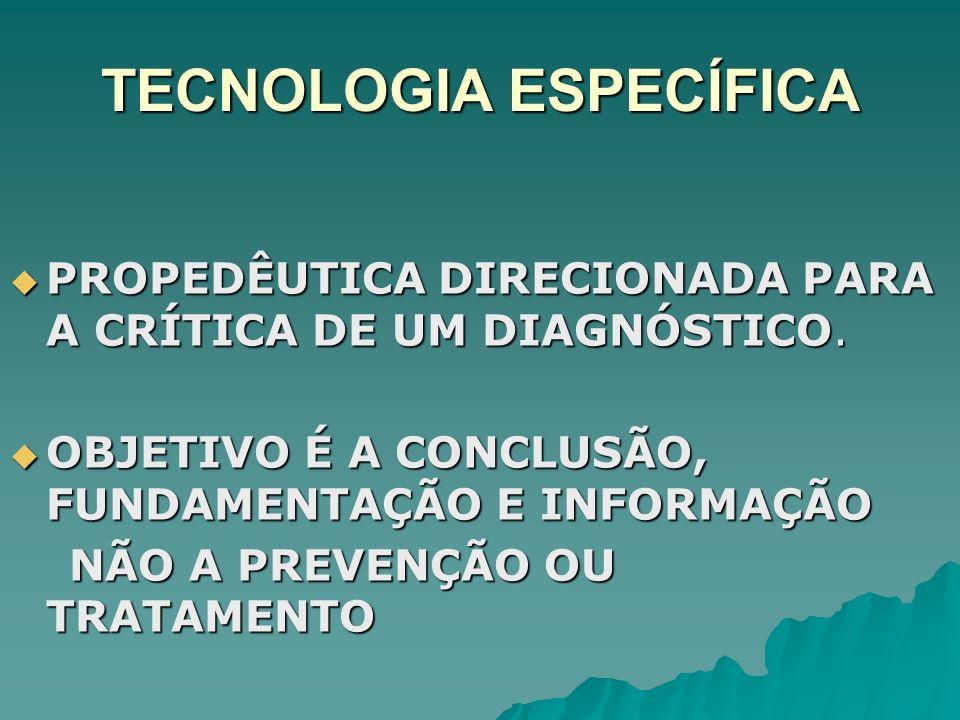 TECNOLOGIA ESPECÍFICA