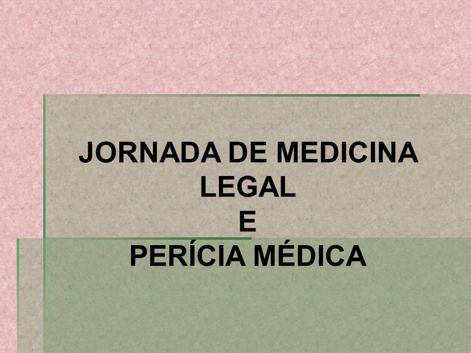JORNADA DE MEDICINA LEGAL
