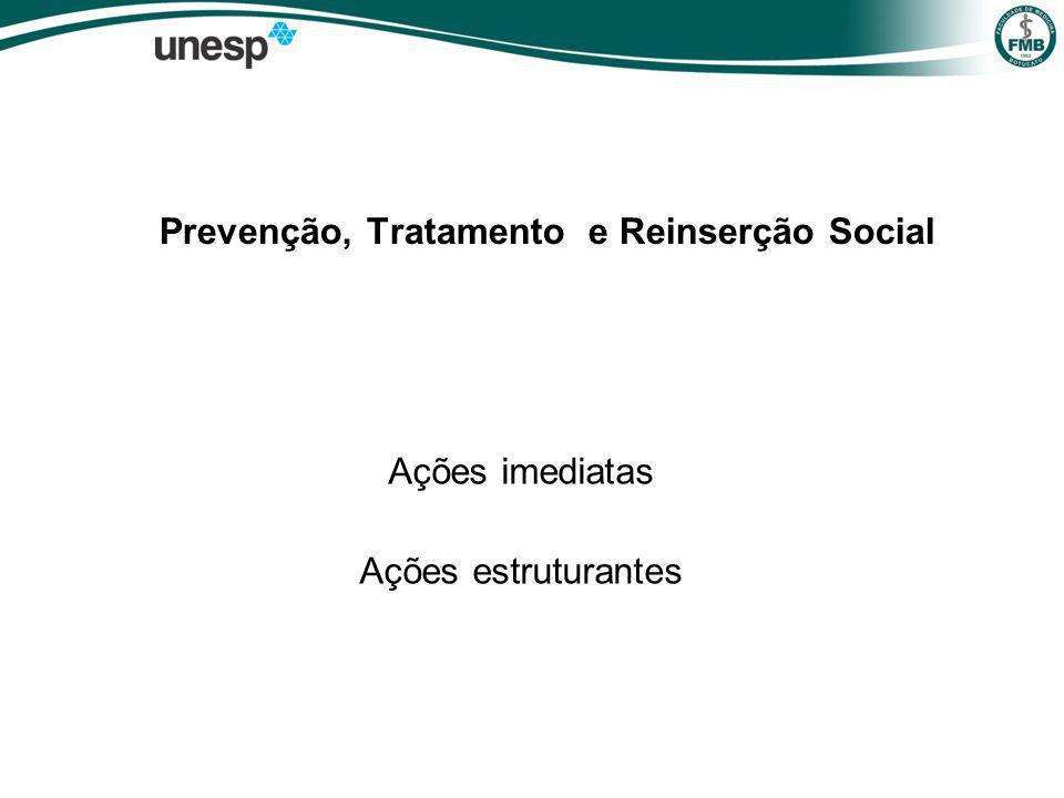 Prevenção, Tratamento e Reinserção Social