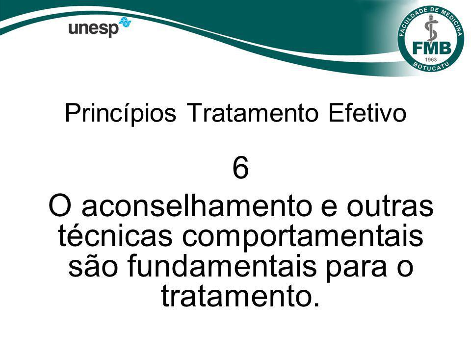 Princípios Tratamento Efetivo