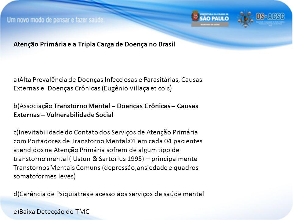 Atenção Primária e a Tripla Carga de Doença no Brasil