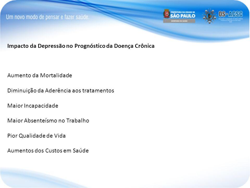Impacto da Depressão no Prognóstico da Doença Crônica