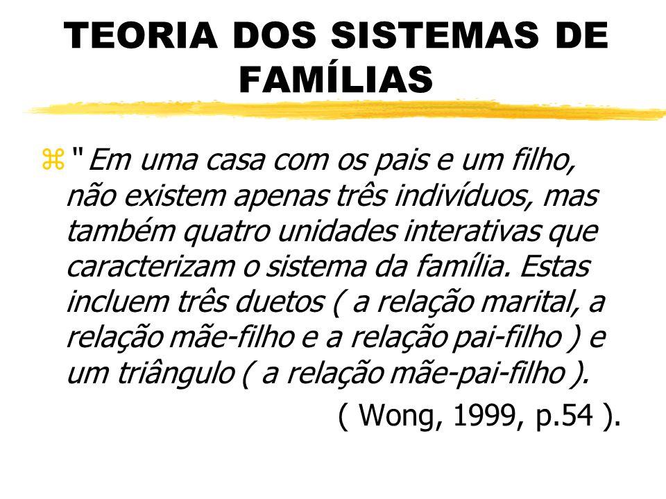TEORIA DOS SISTEMAS DE FAMÍLIAS