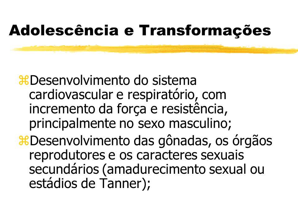 Adolescência e Transformações