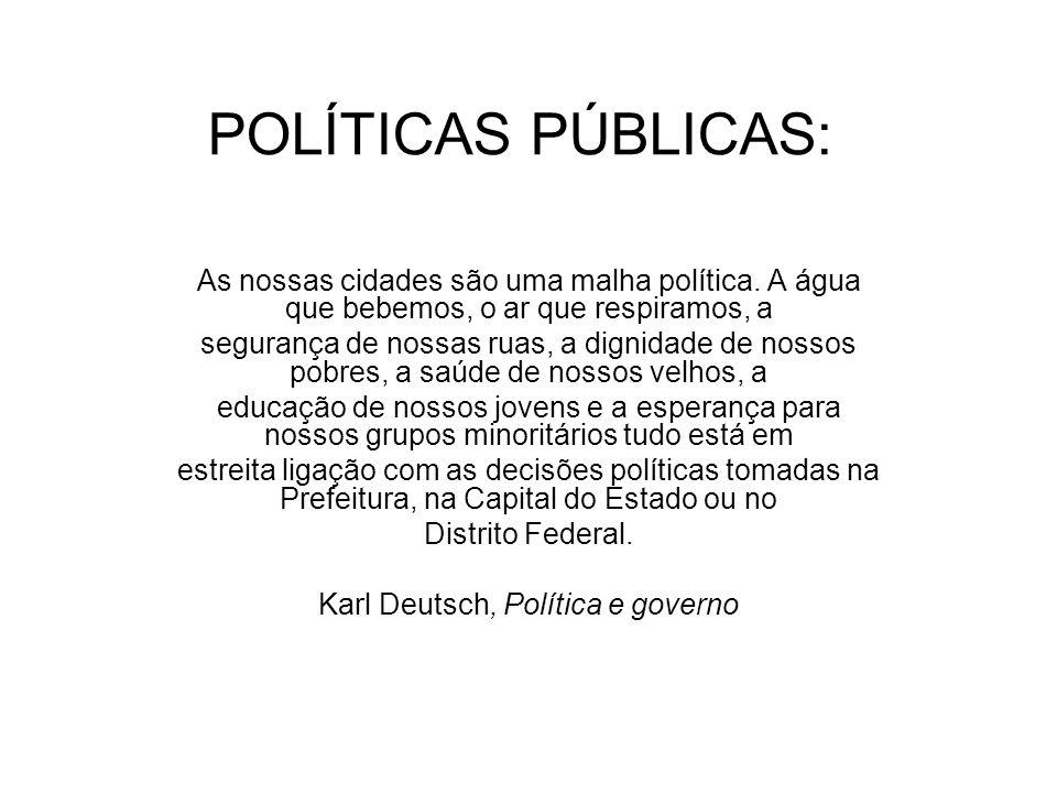 Karl Deutsch, Política e governo