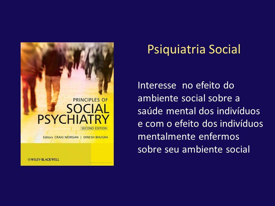 Psiquiatria Social