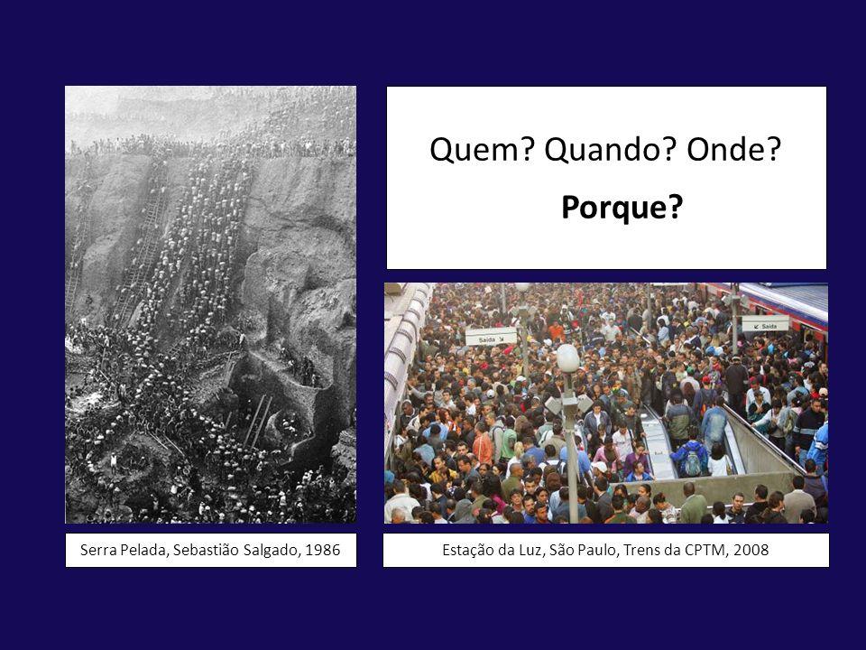 Quem Quando Onde Porque Serra Pelada, Sebastião Salgado, 1986