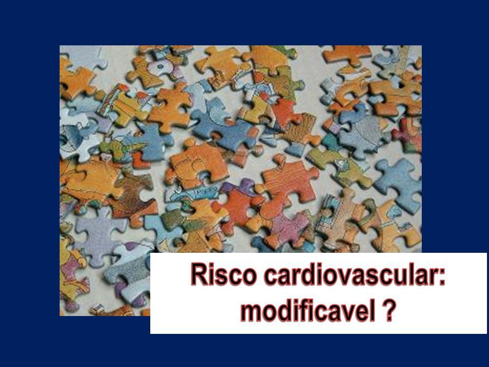 Risco cardiovascular: modificavel