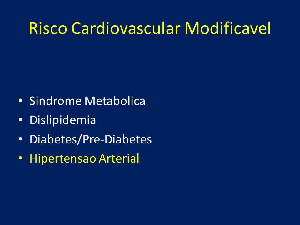 Risco Cardiovascular Modificavel