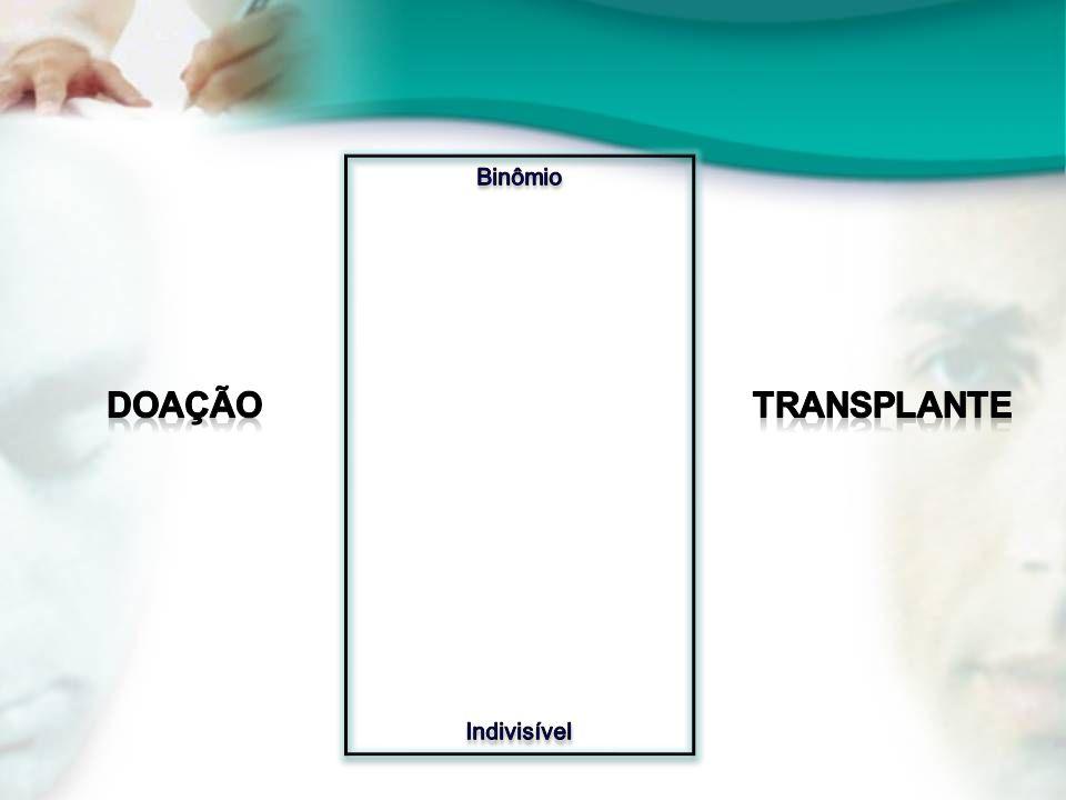 Binômio Indivisível Doação Transplante