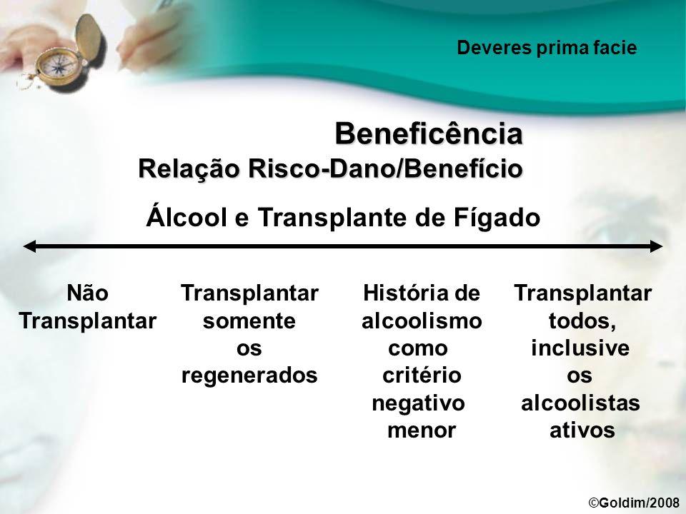 Beneficência Relação Risco-Dano/Benefício