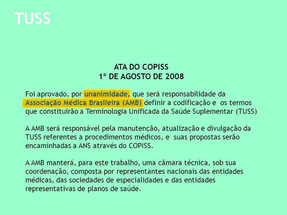 TUSS ATA DO COPISS 1º DE AGOSTO DE 2008