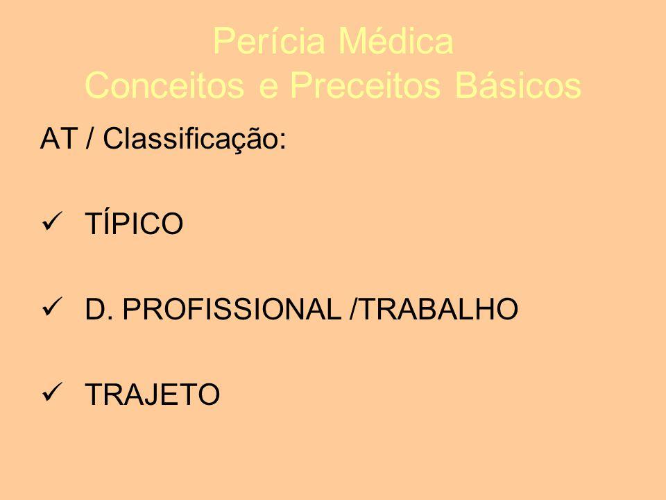 Perícia Médica Conceitos e Preceitos Básicos