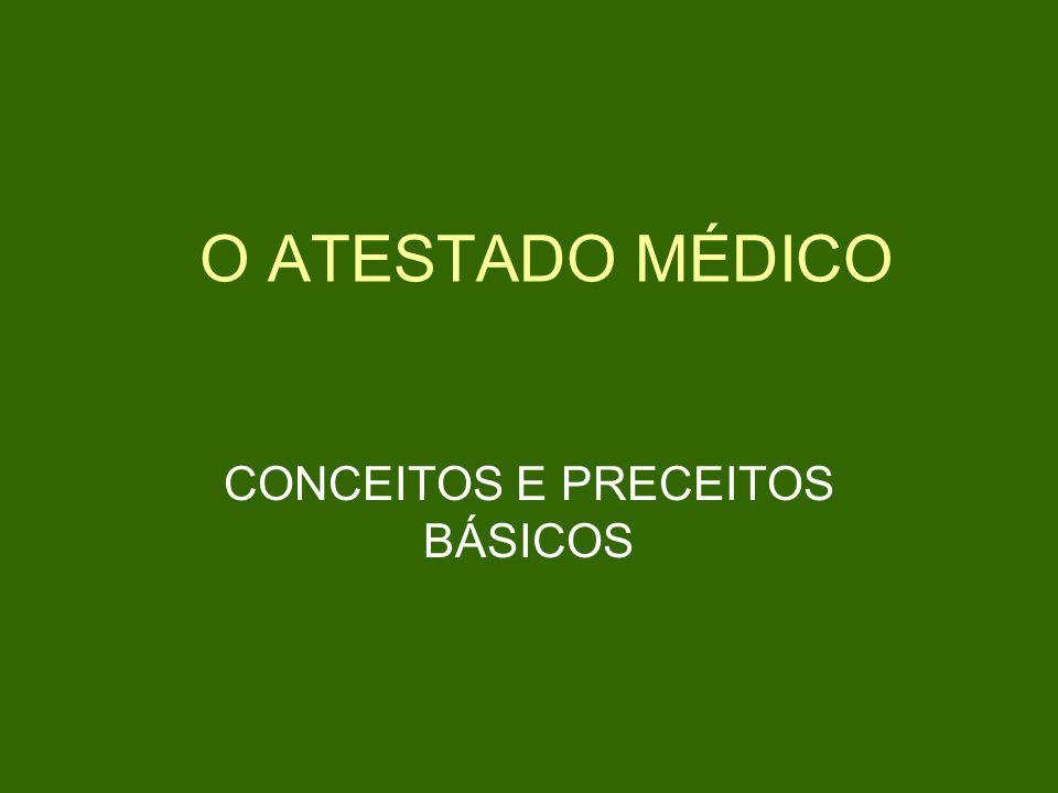 CONCEITOS E PRECEITOS BÁSICOS