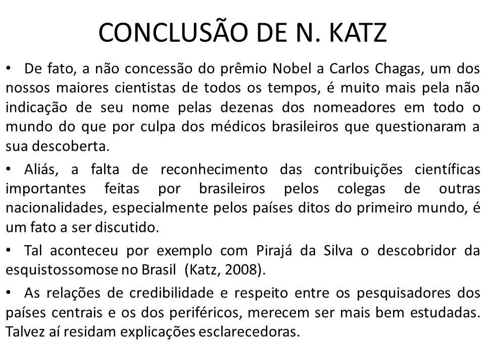 CONCLUSÃO DE N. KATZ