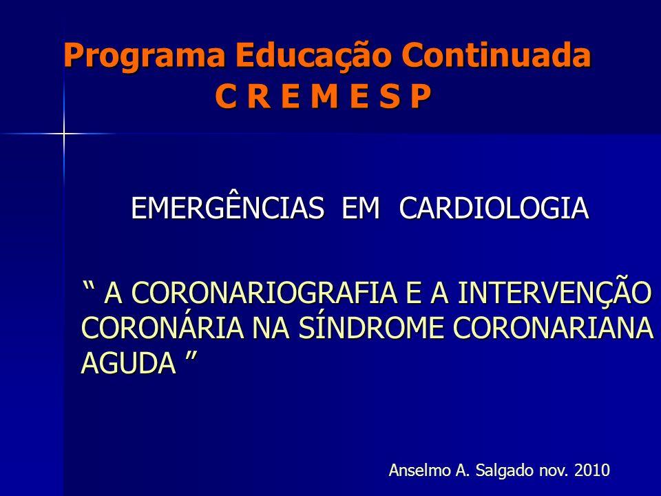 Programa Educação Continuada C R E M E S P