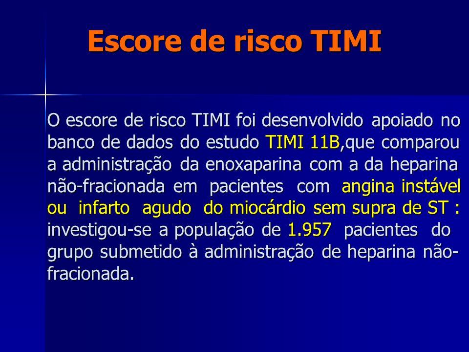 Escore de risco TIMI