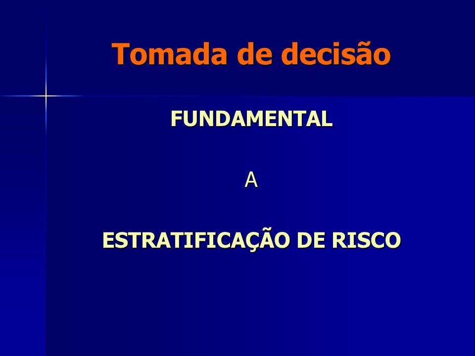 ESTRATIFICAÇÃO DE RISCO