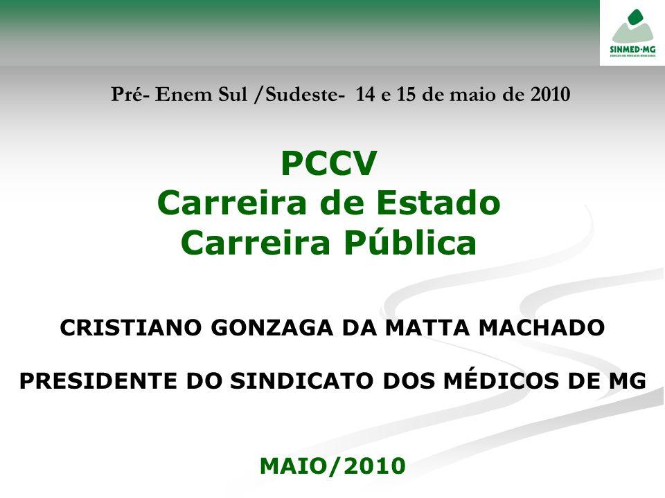 PCCV Carreira de Estado Carreira Pública