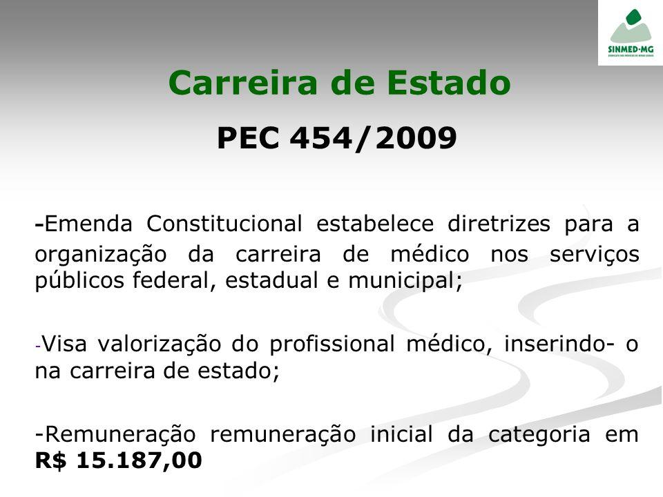 Carreira de Estado PEC 454/2009