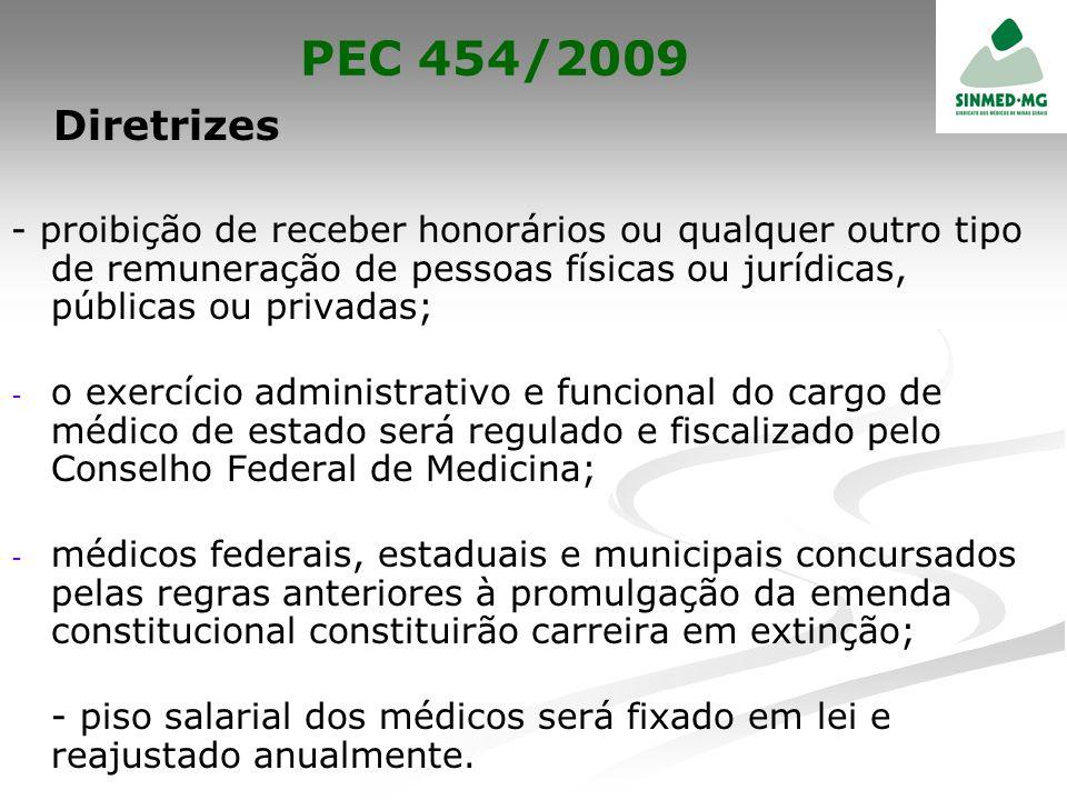 PEC 454/2009 Diretrizes.
