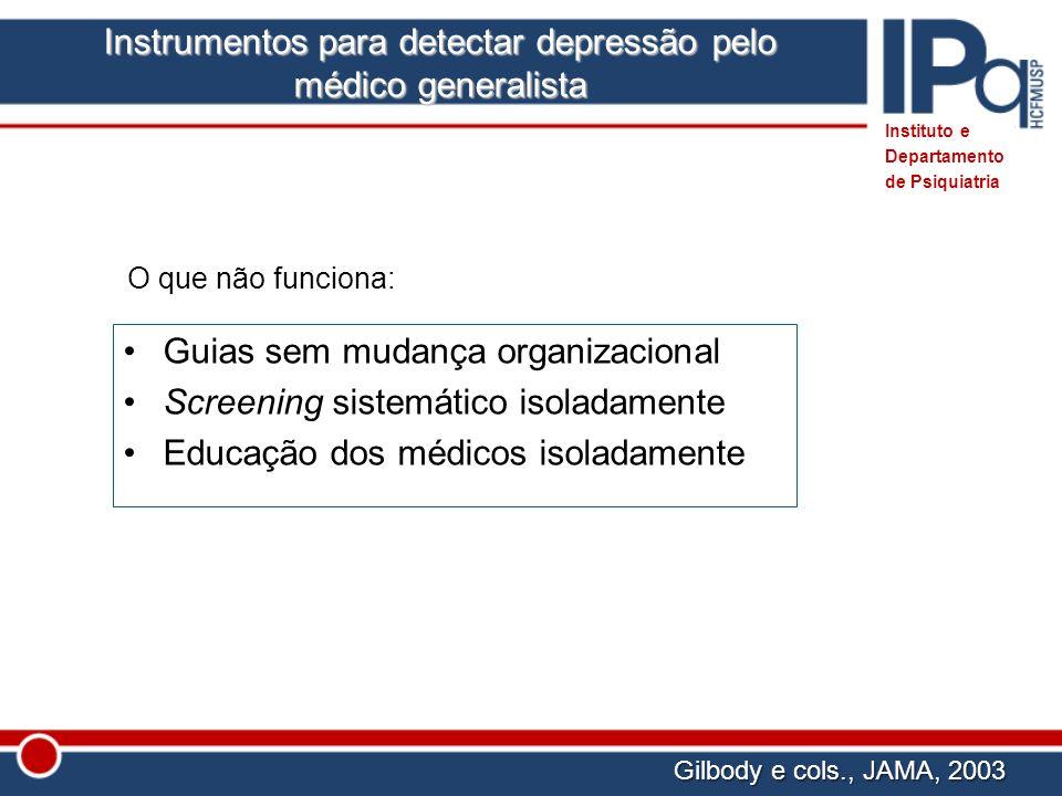 Instrumentos para detectar depressão pelo médico generalista