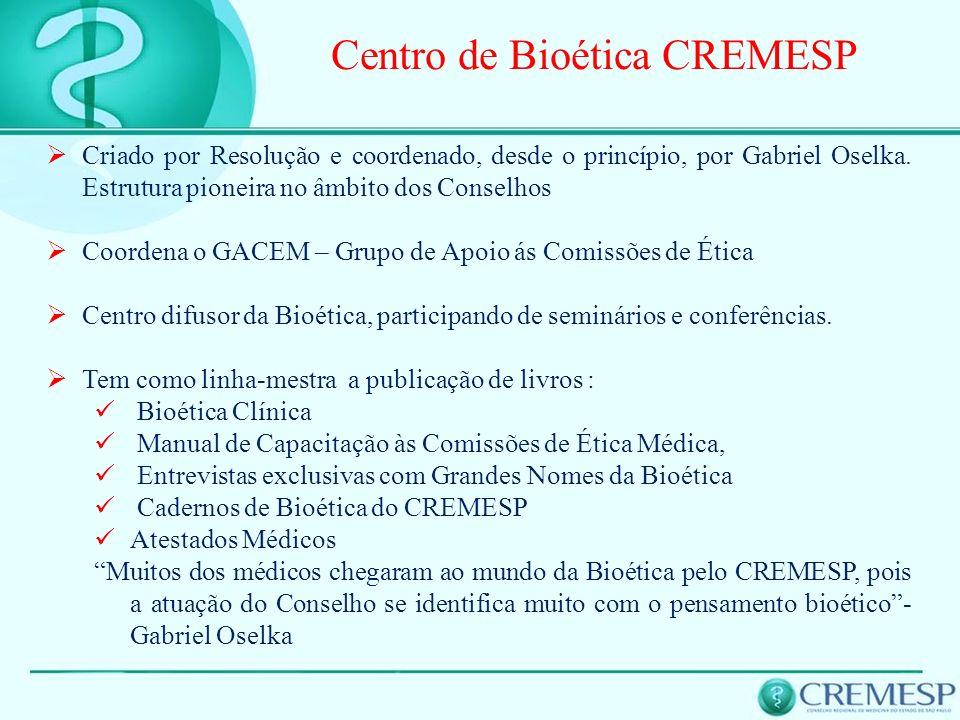 Centro de Bioética CREMESP