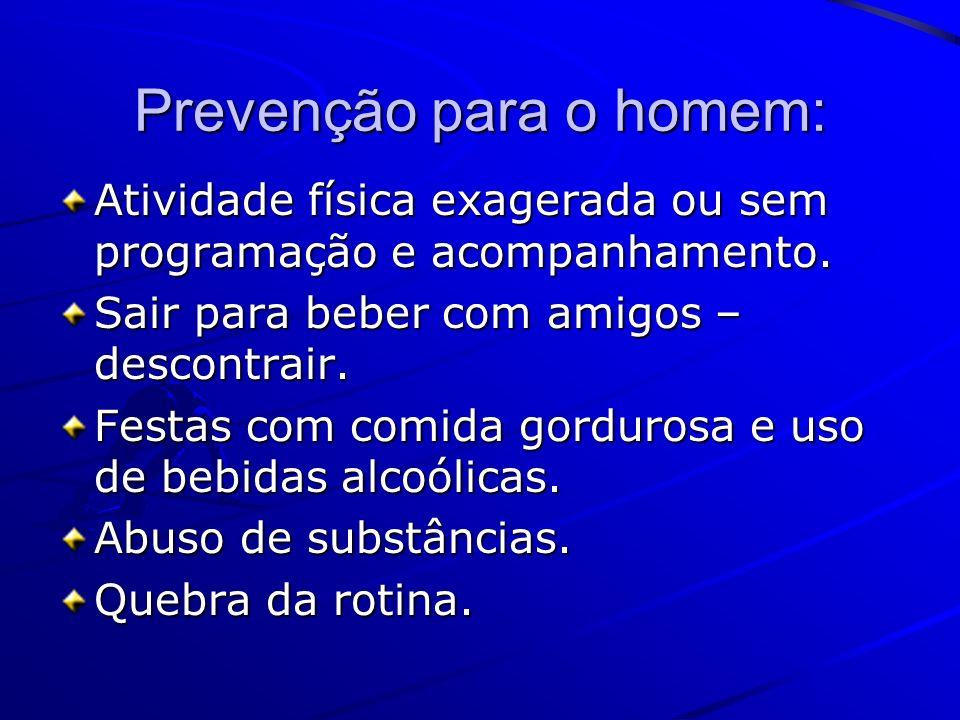 Prevenção para o homem:
