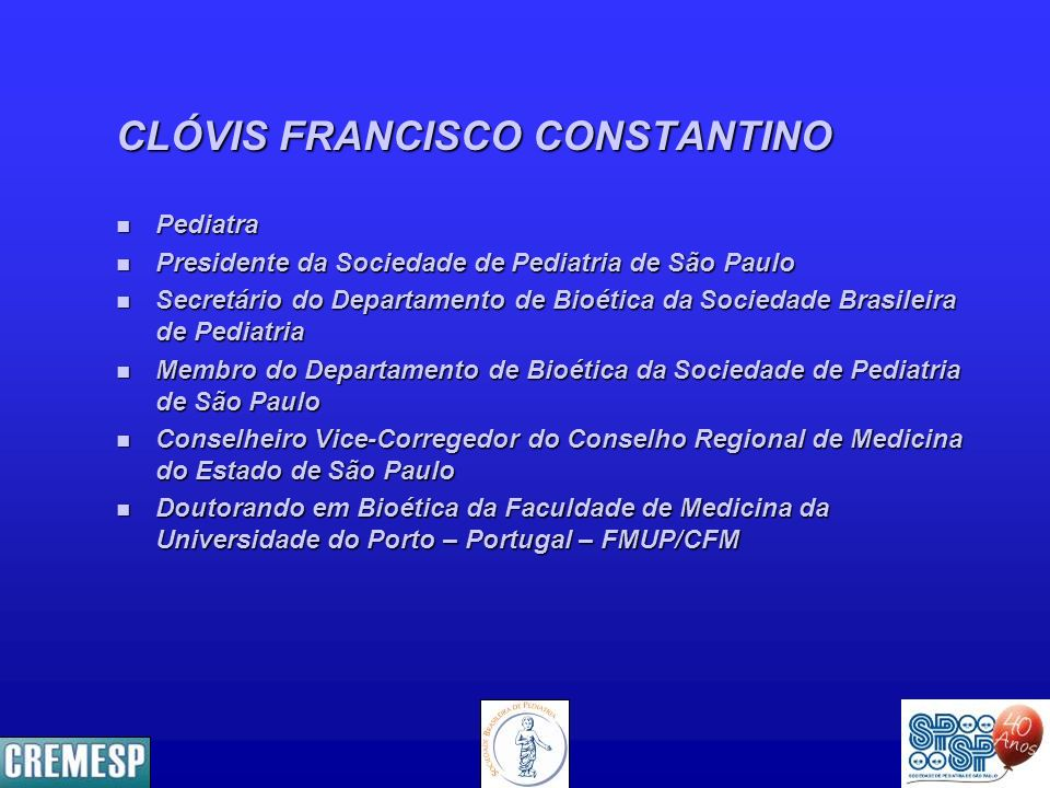CLÓVIS FRANCISCO CONSTANTINO