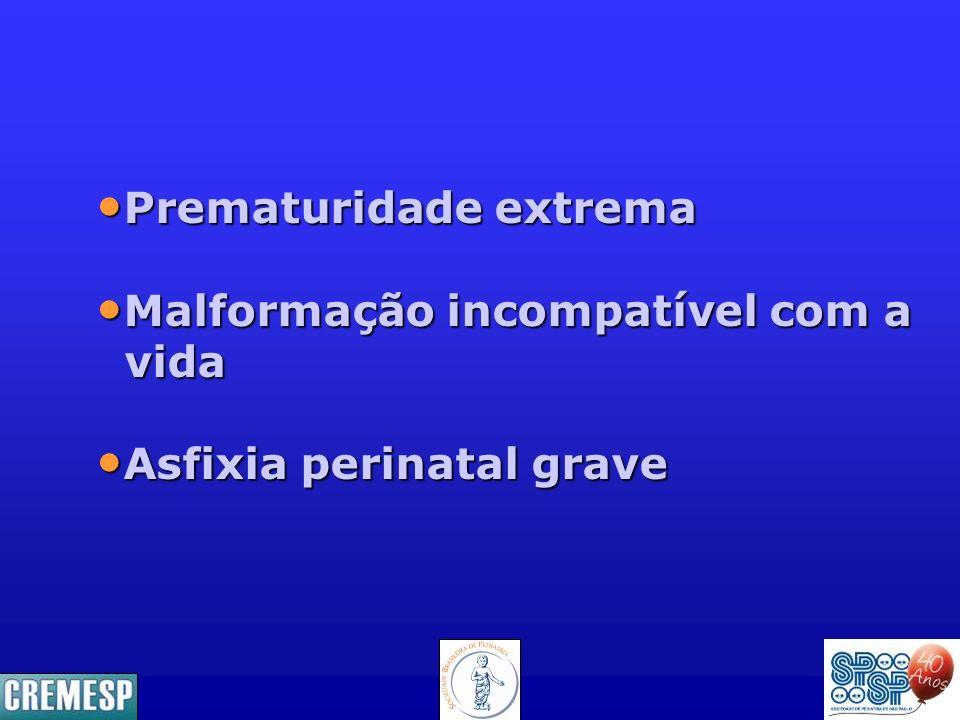 Prematuridade extrema