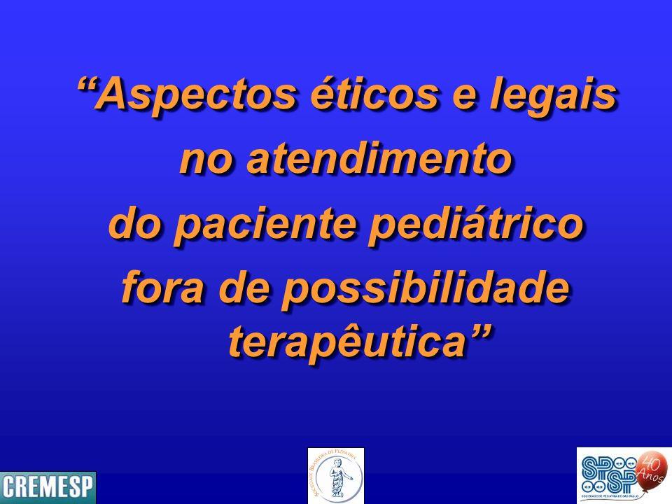 Aspectos éticos e legais no atendimento do paciente pediátrico