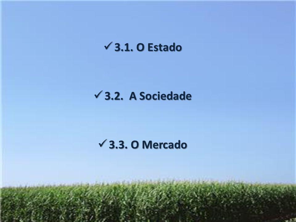 3.1. O Estado 3.2. A Sociedade 3.3. O Mercado