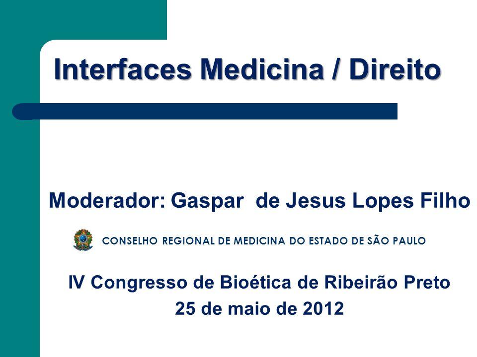 Interfaces Medicina / Direito