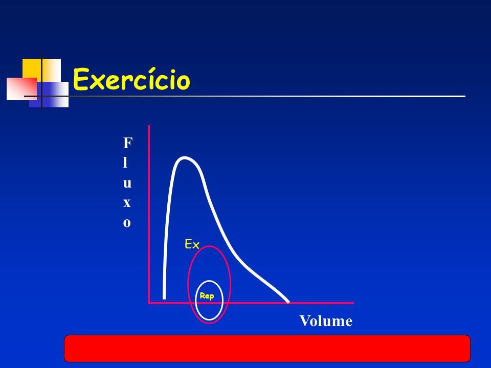 Exercício F l u x o Ex Rep Volume
