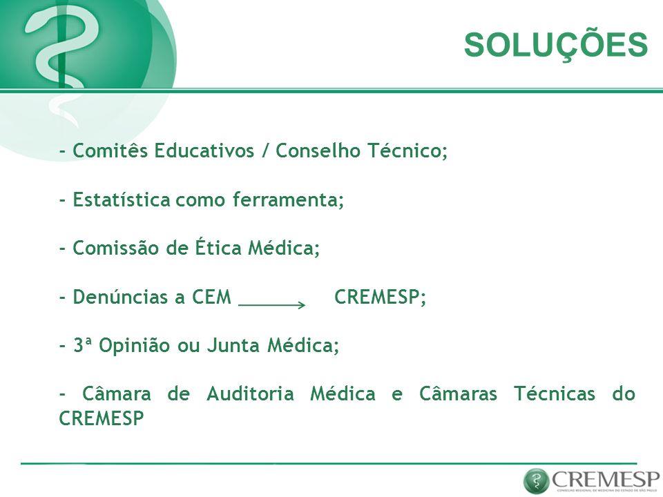 SOLUÇÕES - Comitês Educativos / Conselho Técnico;