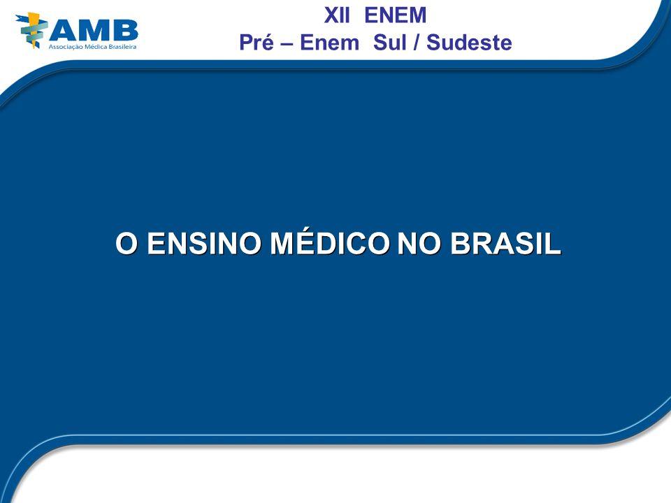 O ENSINO MÉDICO NO BRASIL