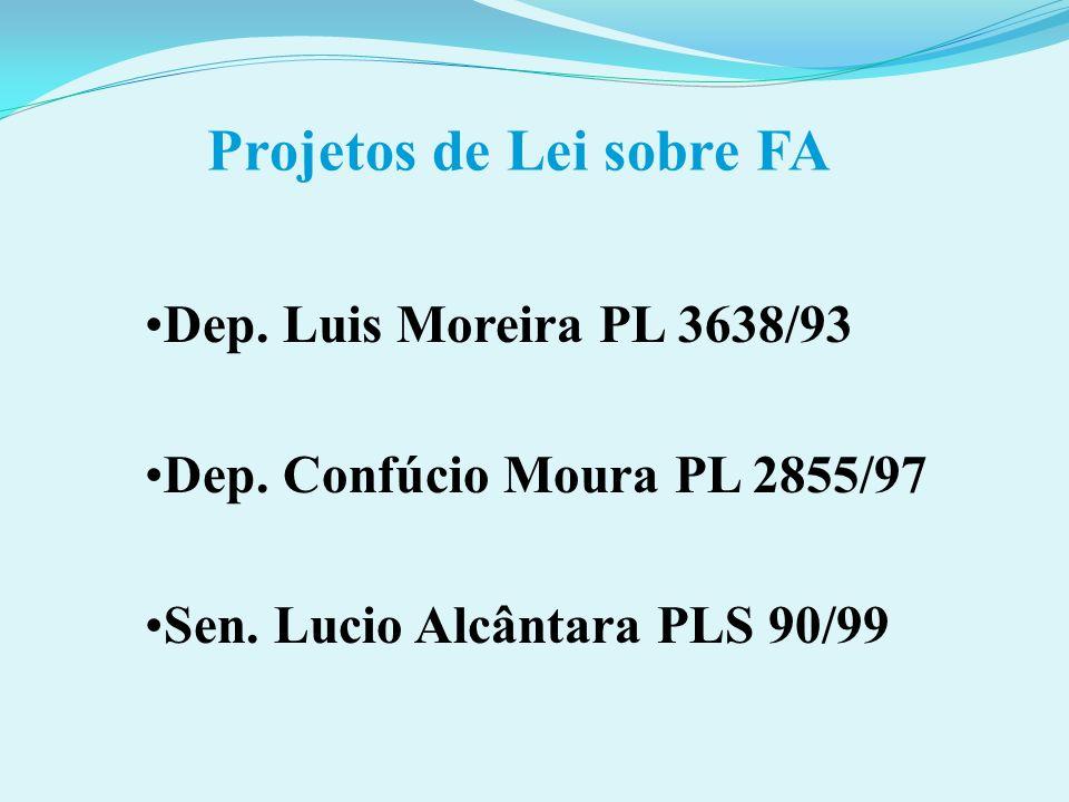 Projetos de Lei sobre FA