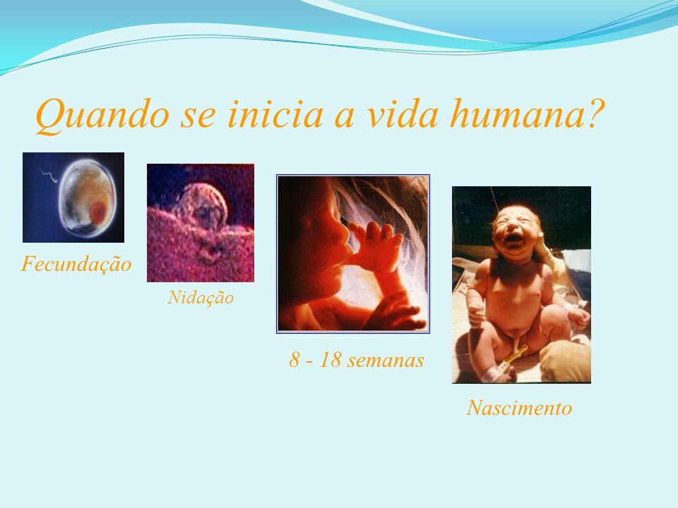 Quando se inicia a vida humana