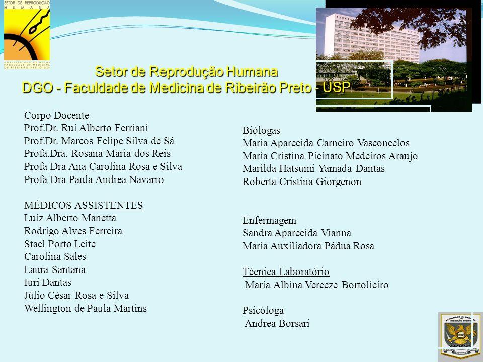 Setor de Reprodução Humana DGO - Faculdade de Medicina de Ribeirão Preto - USP
