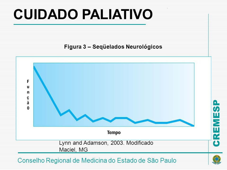 CUIDADO PALIATIVO Figura 3 – Seqüelados Neurológicos
